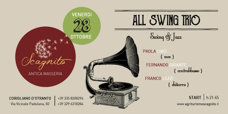FOOD 'N MUSIC - All Swing Trio